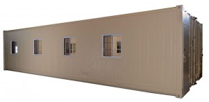 40' Double Reefer Office